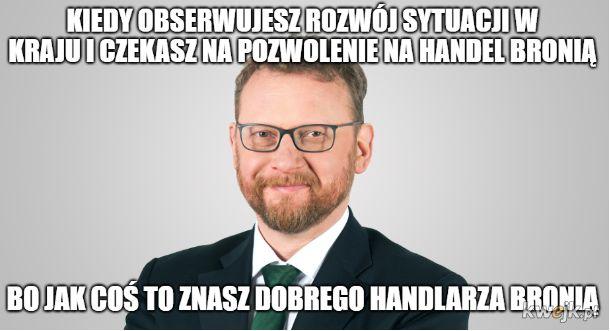 Tymczasem Szumowski