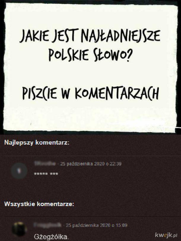Najładniejsze słowo w Polsce