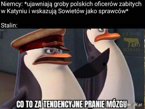 Nie ma dowodów na to że Stalin wiedział o polskich oficerach