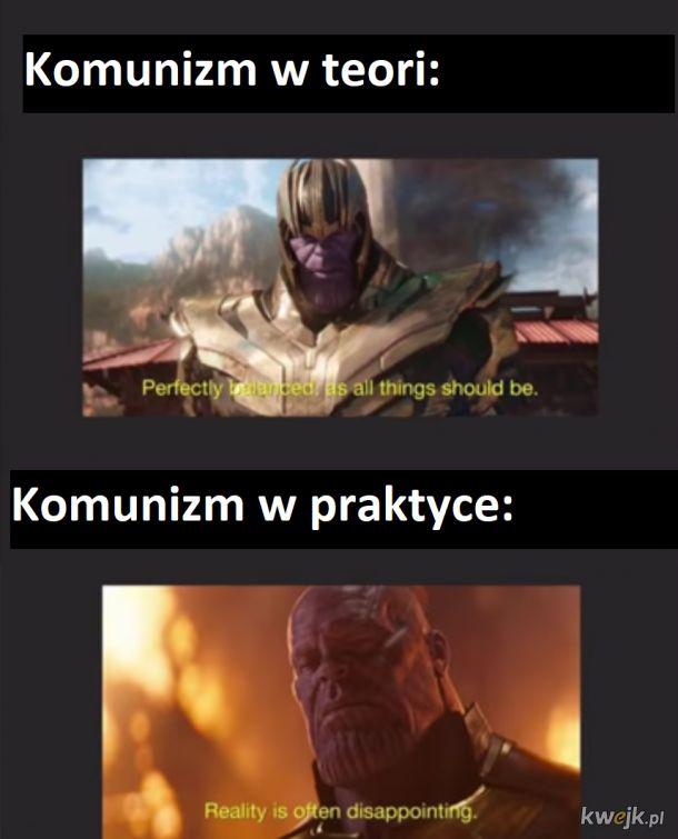 Tak na prawdę to w teorii też komunizm jest słaby