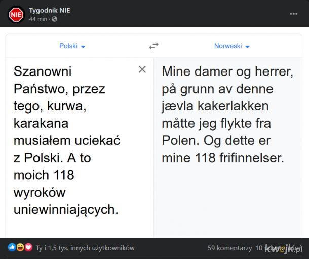Fabuła nowego skandynawskiego kryminału dobrze się zapowiada..