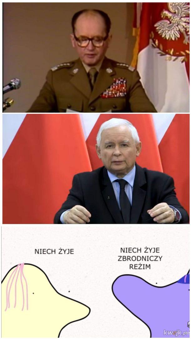 Niech żyje zbrodniczy reżim