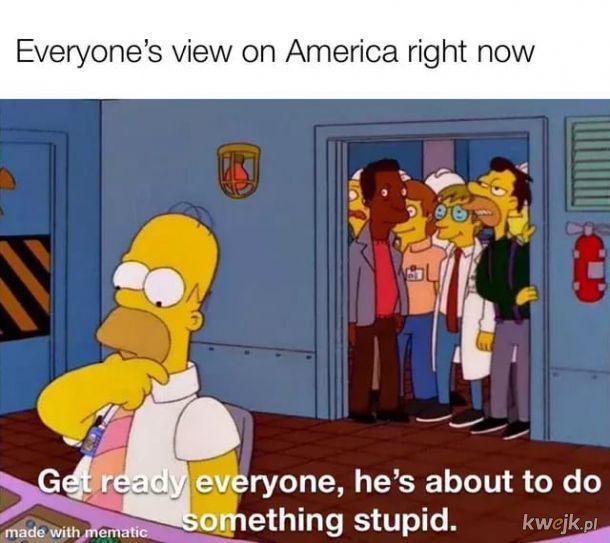 Ameryko dość
