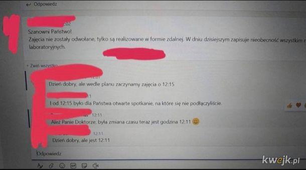 Realność polskich uczelni na zajęcia zdalne