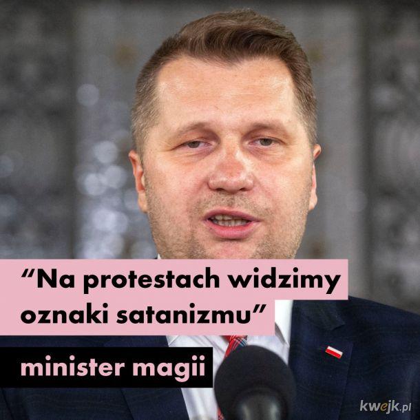 Wódz Kaczyński dał sygnał do odlotu..