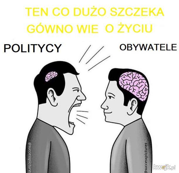 politycy vs. obywatele