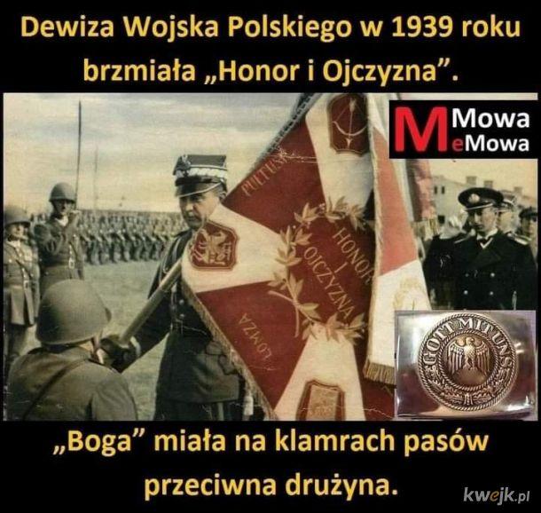 """Klamry od pasów u nazistów nosiły napis """"Gott mit uns"""" (Bóg z nami)"""