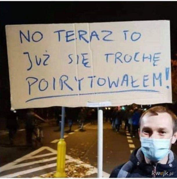Najbardziej oryginalne hasła z transparentów na protestach przeciwko zakazowi aborcji II