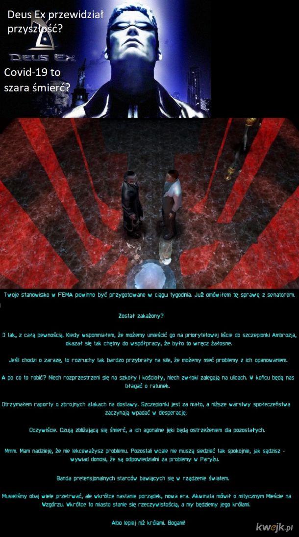 Czy Deus Ex przewidział przyszłość
