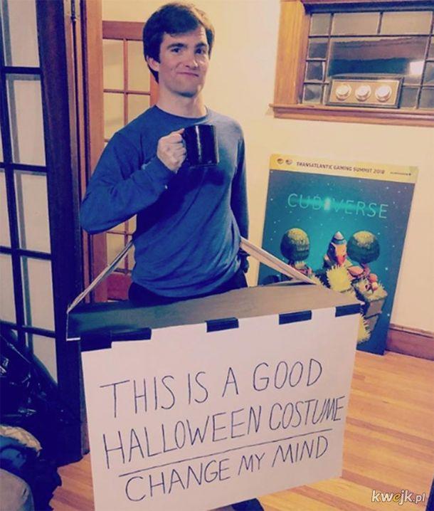 Nie masz pomysłu na strój na Halloween? Przebierz się za mem!