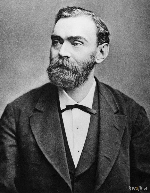 Dziś mija 187. rocznica urodzin Alfreda Nobla