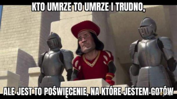 Poświęcenie Morawieckiego