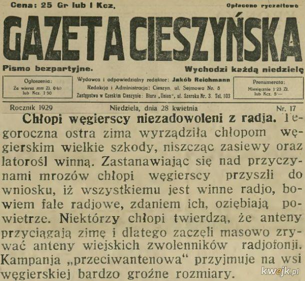 Na Węgrzech w 1929. I za niedługo w Kraśniku...