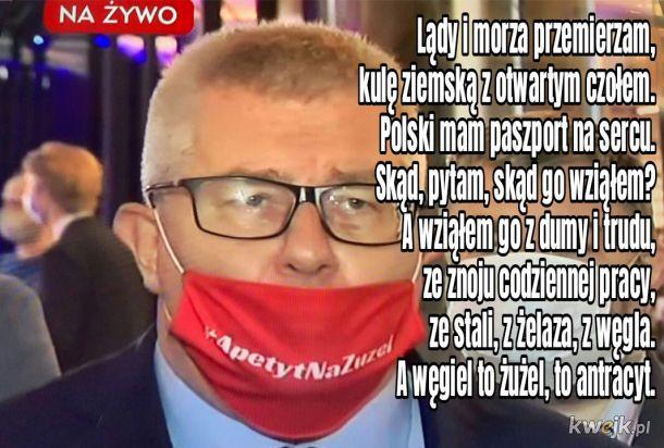Wszystkie Ryśki to porządne chłopy żrące żużel i przeciwne dekarbonizacji Polski!