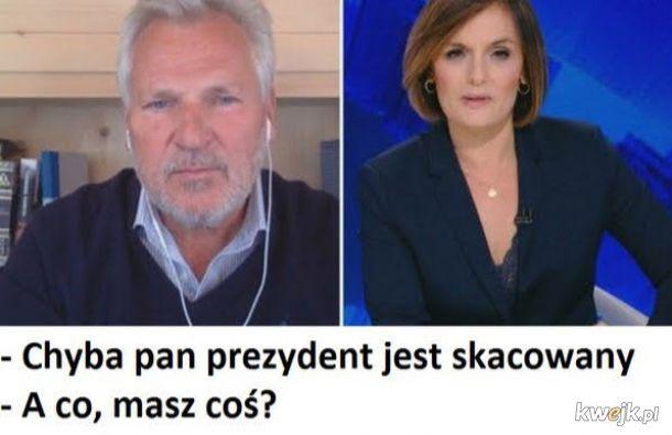 Najlepszy prezydent Polski to człowiek chory na alkoholizm :(