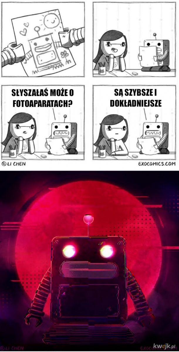 Robot bez uczuć