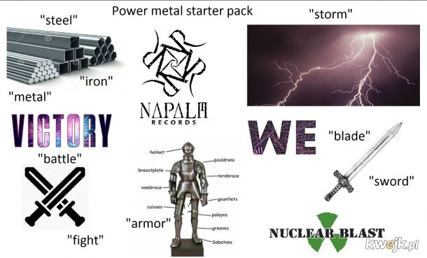 Power metal starter pack