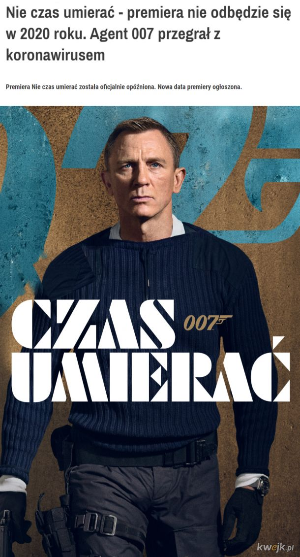 Tylko mi się nie podobają te filmy z Craigiem?
