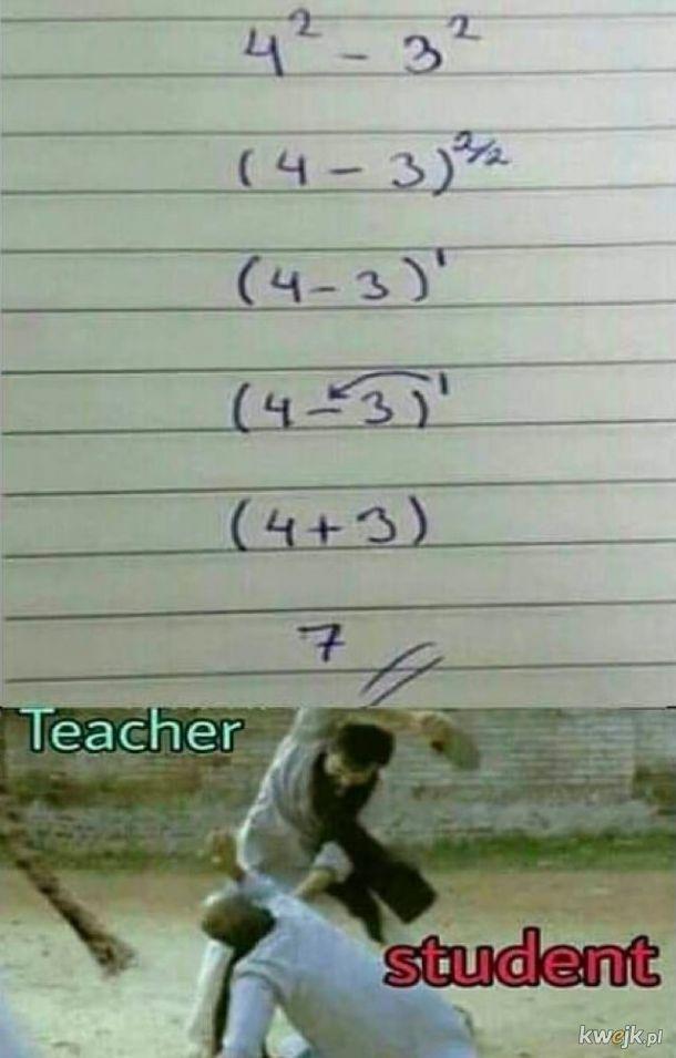 Student, nie pij