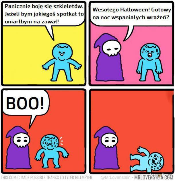 Strach przed szkieletem