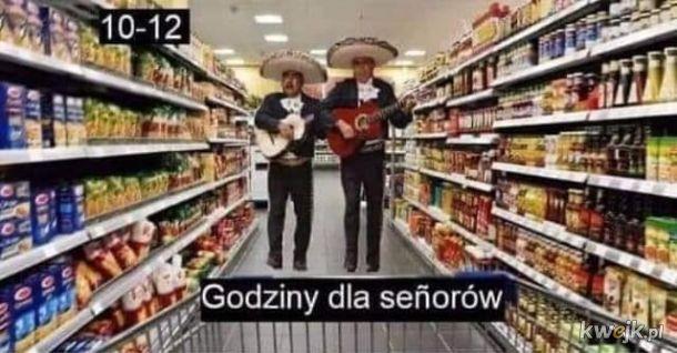 Godziny dla seniorów w sklepach