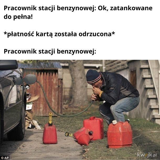 Oddaj benzynę!