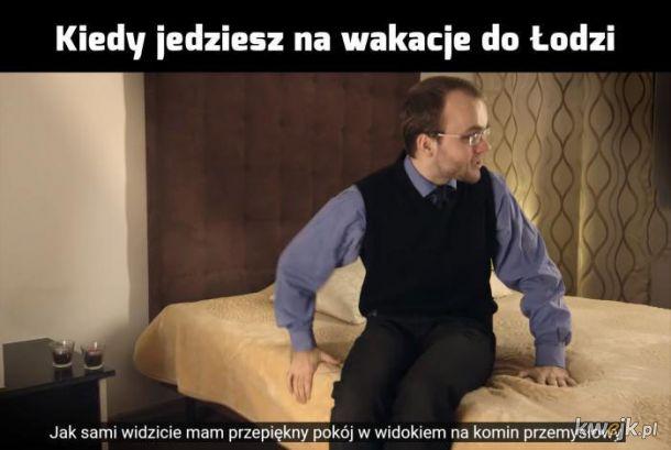 Wakacje w Łodzi