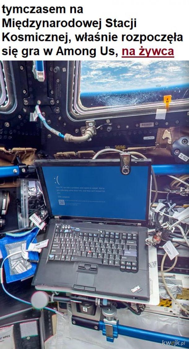 Niebieski Ekran Śmierci w kosmosie