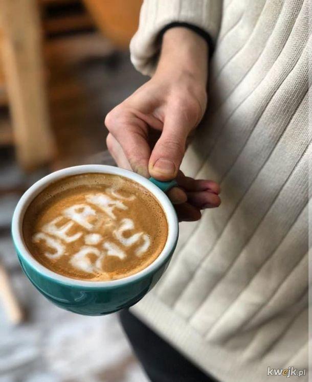 Smacznej kawusi wszystkim życzę