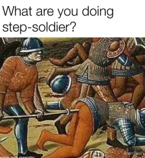Stepujący żołnierz