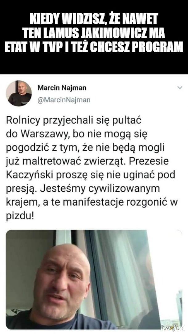 Uuu, walka Rolnicy vs. Najman w walce o Pas Polsatu!