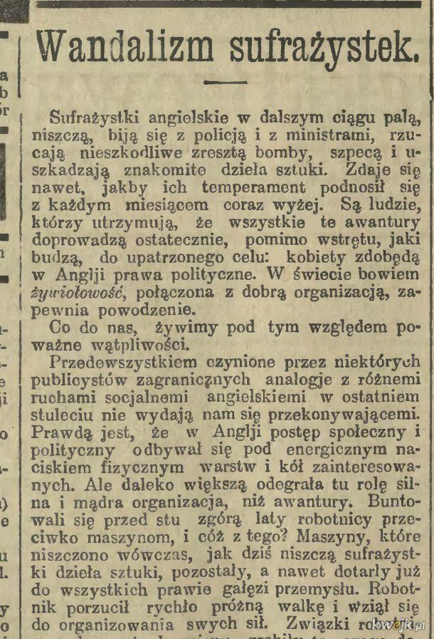 Tymczasem w 1914 roku