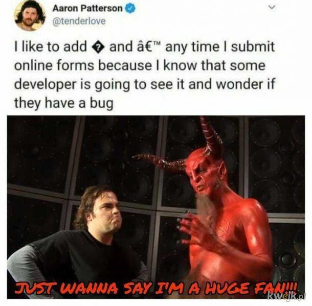 To diabeł jest