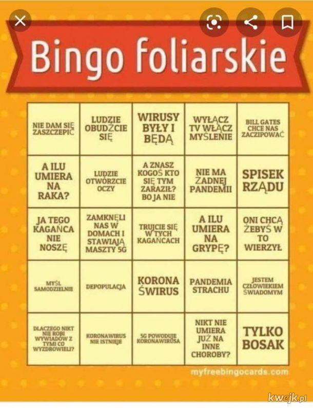 Bingo foliarskie