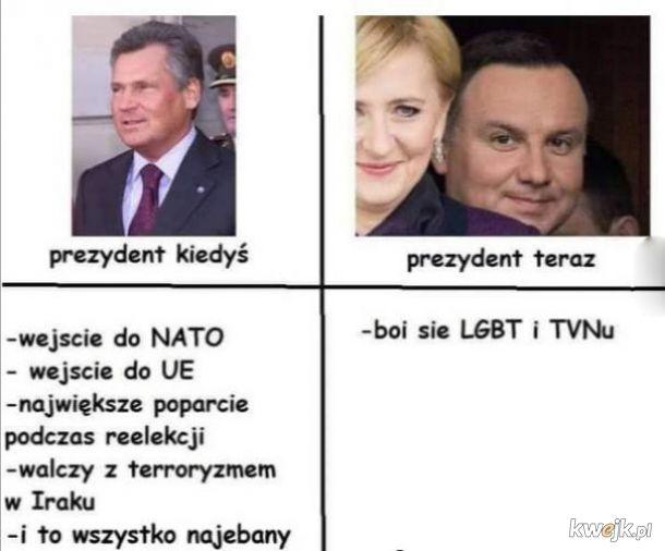 Prezydent kiedyś i teraz
