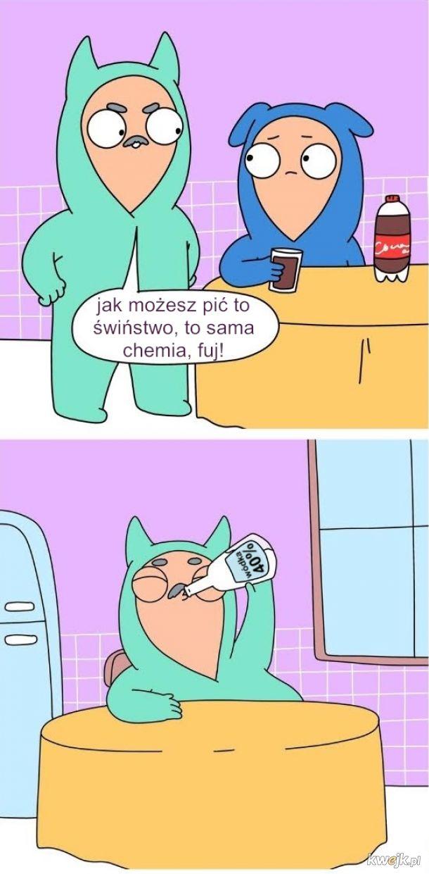 Troskliwy tata Janusz