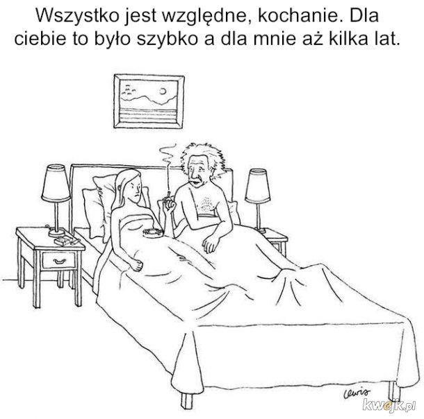 Albert w łóżku