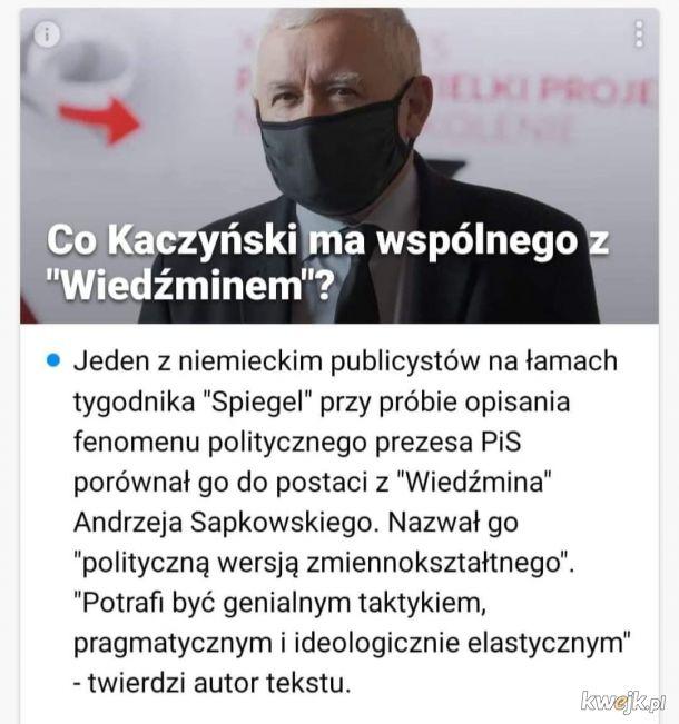 """""""Grosza daj Prezesowi, sakiewką potrząśnij, sakiewką potrząśnij wohoho! Grosza daj Prezesowi, obrońcy polskości!"""""""