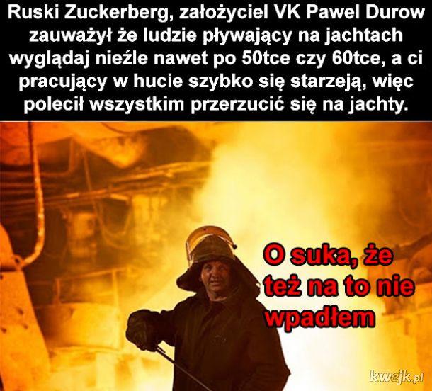 Założyciel VK