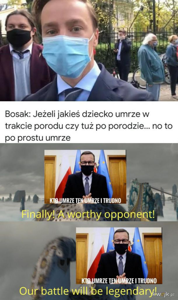 Bosak vs Morawiecki