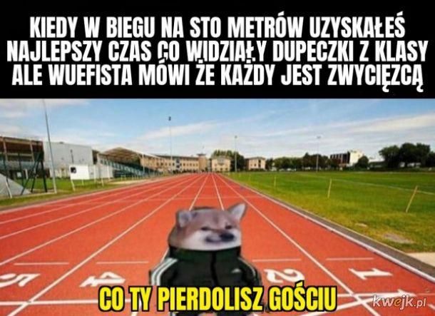 Bieg na sto metrów
