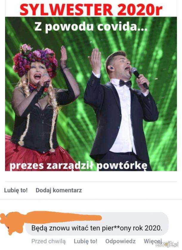 Prezes TVP zarządził powtórkę Sylwestra