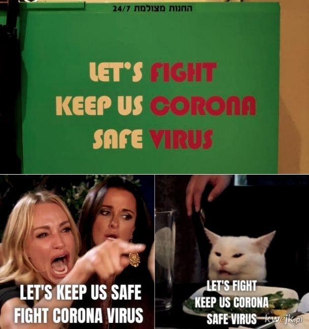 lET'S FIGHT. SAFE VIRUS