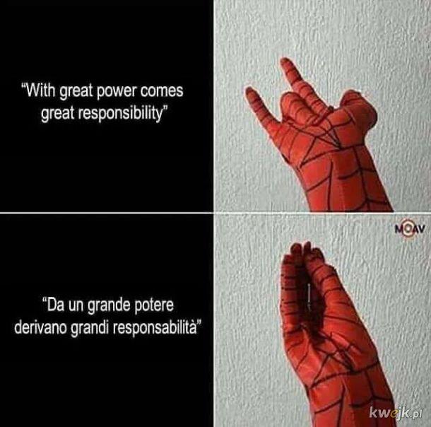 Z wielką mocą idzie wielka odpowiedzialność