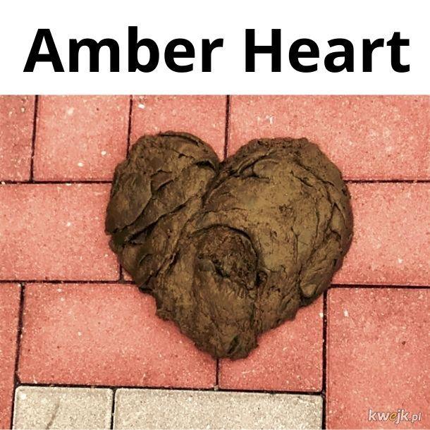 Amber Heart... tzn. Heard