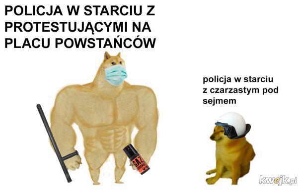 Podsumowanie nocnych wydarzeń w Warszawie