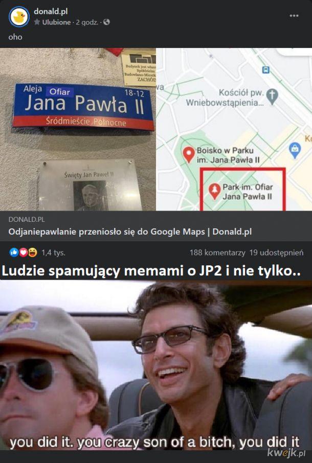 """Śmieszki z """"niewiedzy"""" JP2"""
