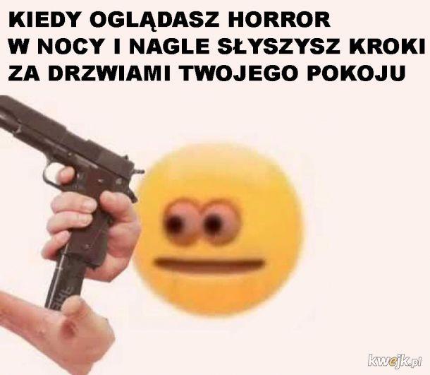 Horror w nocy