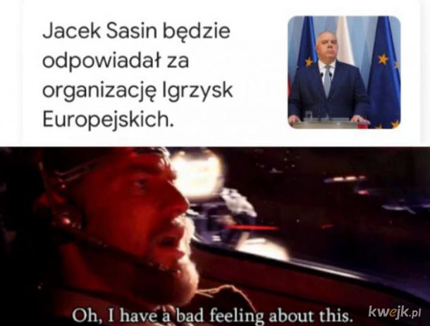 Sasin i Igrzyska Europejskie