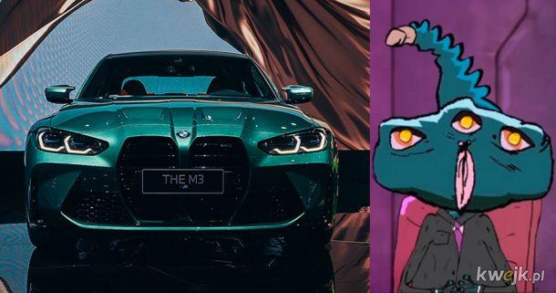 Nowe BMW - gdzieś już to widziałem